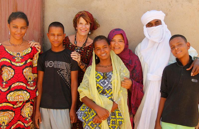 Junior high in Agadez and Ingal